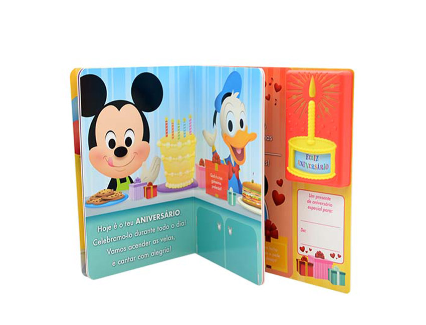 Custom Children Sound Book Printing